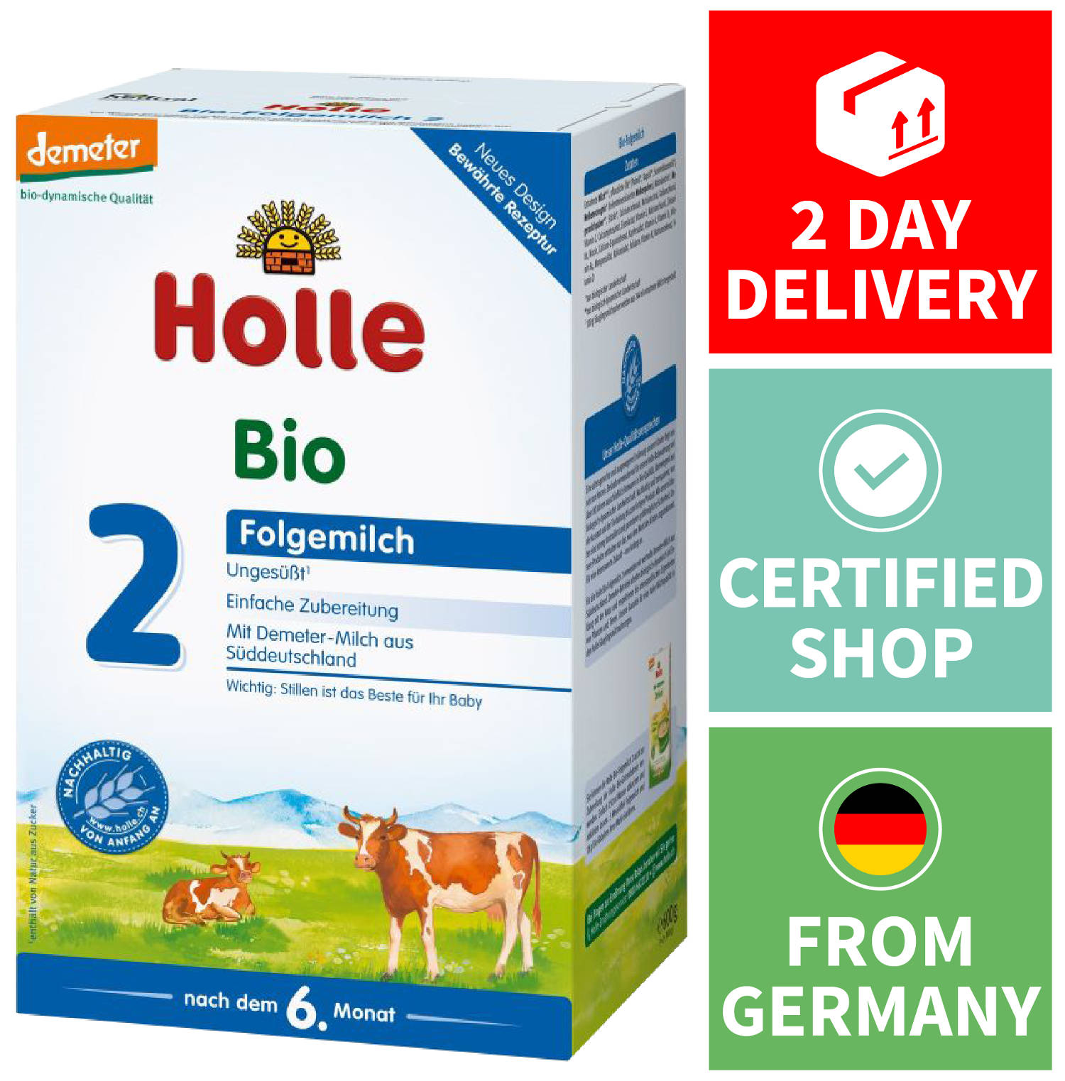 Holle Organic Formula Stage 2 Feed The Best Formula