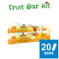 20x Holle Organic Fruit Bar Kit