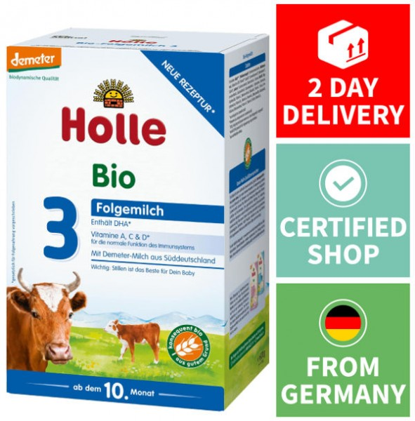 Holle Organic Formula Stage 3 Feed The Best Formula