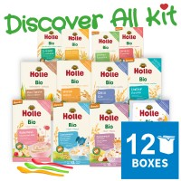 12x Holle Cereal & Porridge Discover All Kit