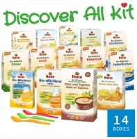 "Holle Cereal & Porridge Big Kit ""Discover All"""
