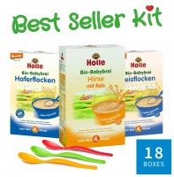 "Holle Cereal & Porridge Big Kit ""18 Best Seller"""