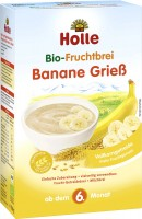 Organic Fruit Porridge Banana Semolina