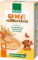 Lebenswert Organic Semolina Whole-Grain Mash